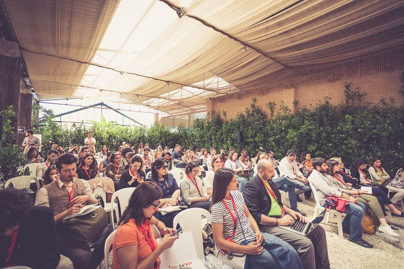 Un momento dell'edizione 2017 di Cibiamoci Digital & Marketing Food Festival