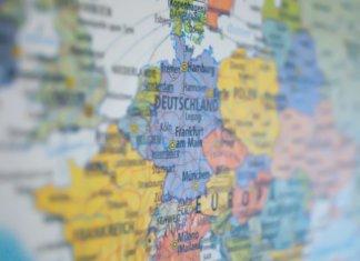 Cartina della Germania, Europa