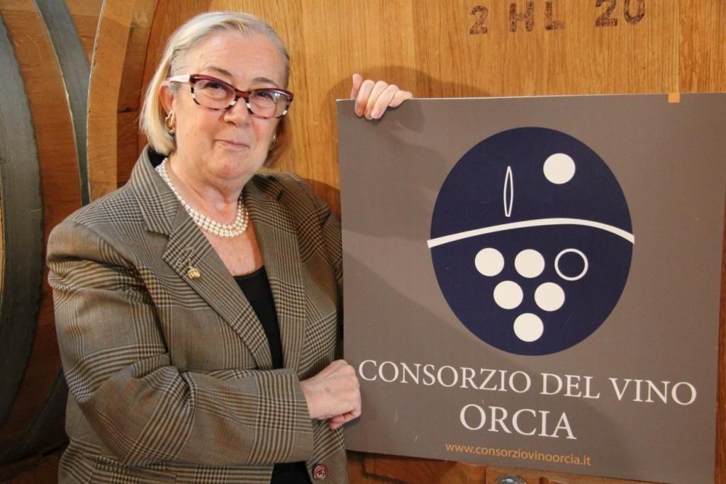 Donatella Cinelli Colombini, presidente del Consorzio di tutela del vino Orcia