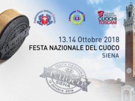 Locandina Festa Nazionale del Cuoco 2018, Siena