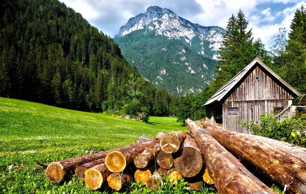 Le Alpi, uno dei territori più soggetti all'abbandono agricolo ed al rischio idrogeologico
