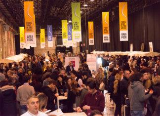 L'area food a Food & Wine in progress edizione 2017