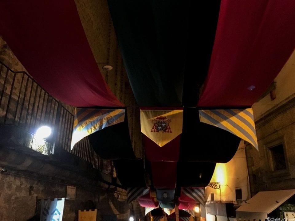 Durante la Sagra delle Castagne il paese di Soriano nel Cimino si trasforma, rivelando atmosfere suggestive