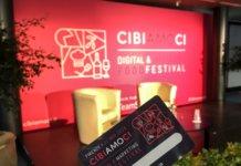 Il palco ella sala plenaria di Cibiamoci Festival 2018