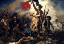 La libertà che guida il popolo, Eugène Delacroix