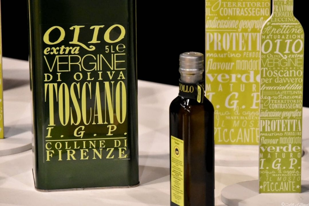 Olio Evo Toscano IPG a Food&Wine in Progress 2018