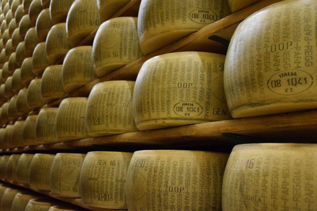 Un caseificio produttore di Parmigiano Reggiano Dop