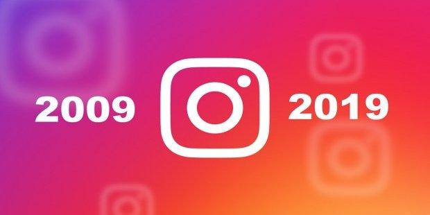 10 years challenge, Instagram