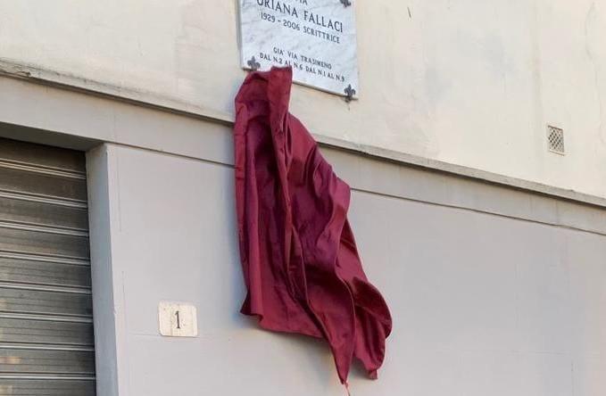 Intitolazione via Oriana Fallaci, Arezzo