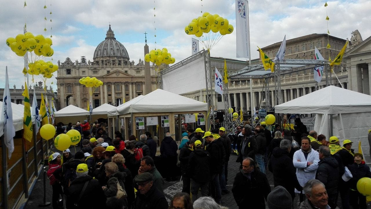 Sant'Antonio 2019: animali, agricoltori ed allevatori in Piazza San Pietro a Roma per la tradizionale benedizione