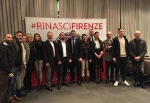Il candidato sindaco e la squadra di CasaPound Firenze