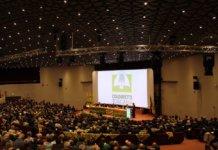 Sala gremita per gli Stati Generali di Coldiretti Toscana, svoltosi alla presenza del Ministro Gian Marco Centinaio