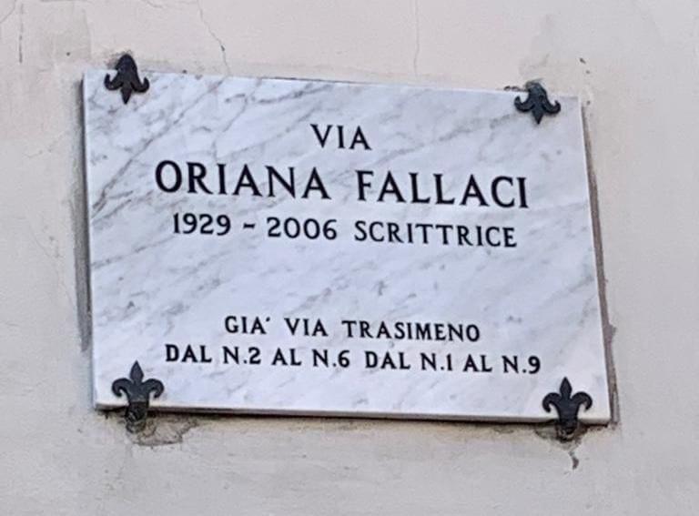 via Oriana Fallaci, Arezzo