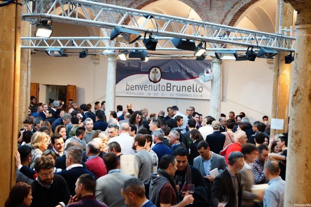 Bagno di folla ogni anno per Benvenuto Brunello a Montalcino, l'evento che tradizionalmente chiude l'anno delle Anteprime dei vini di Toscana. Questa l'edizione 2016