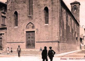 Chiesa e Piazza di Sant'Ambrogio a Firenze, luogo di miracoli nel Medio Evo e nel Rinascimento ma con qualche problema di sicurezza e di degrado.