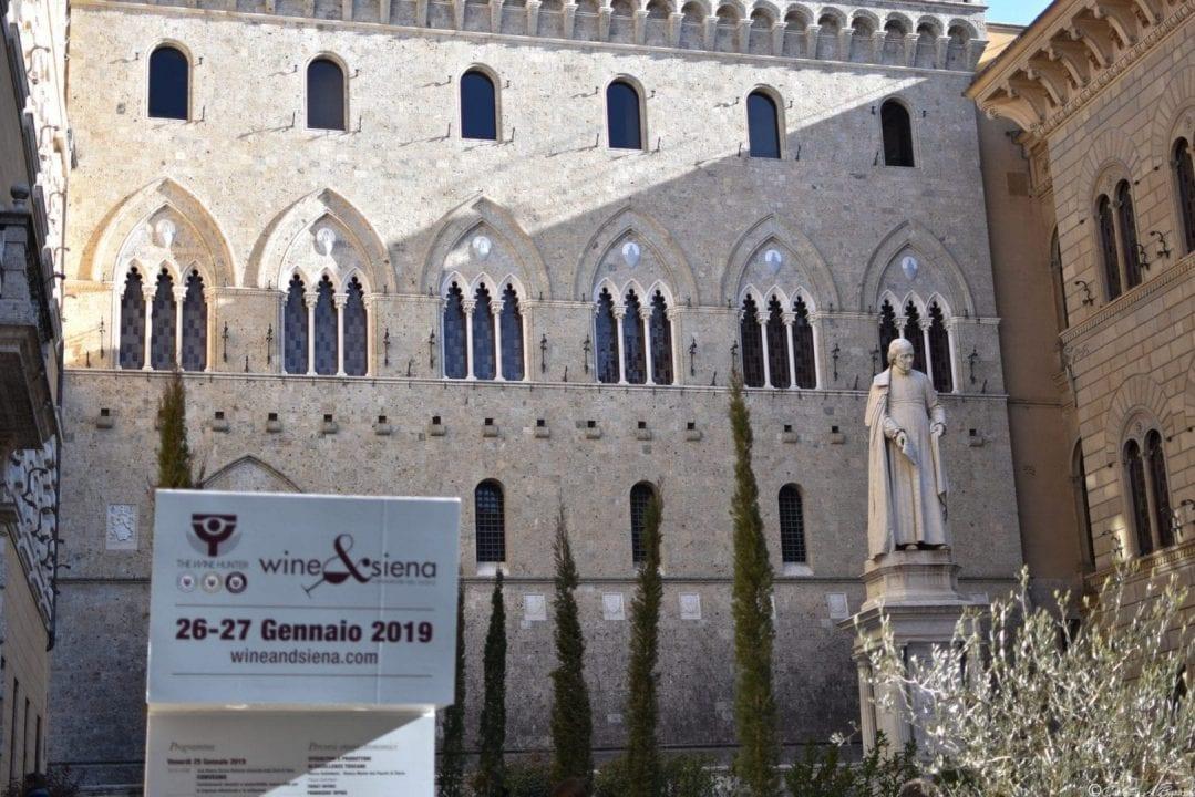 Wine&Siena 2019, l'ingresso a Rocca Salimbeni