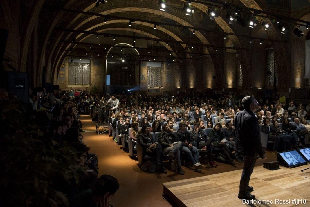International Journalism Festival Perugia 2018, photo: Bartolomeo Rossi