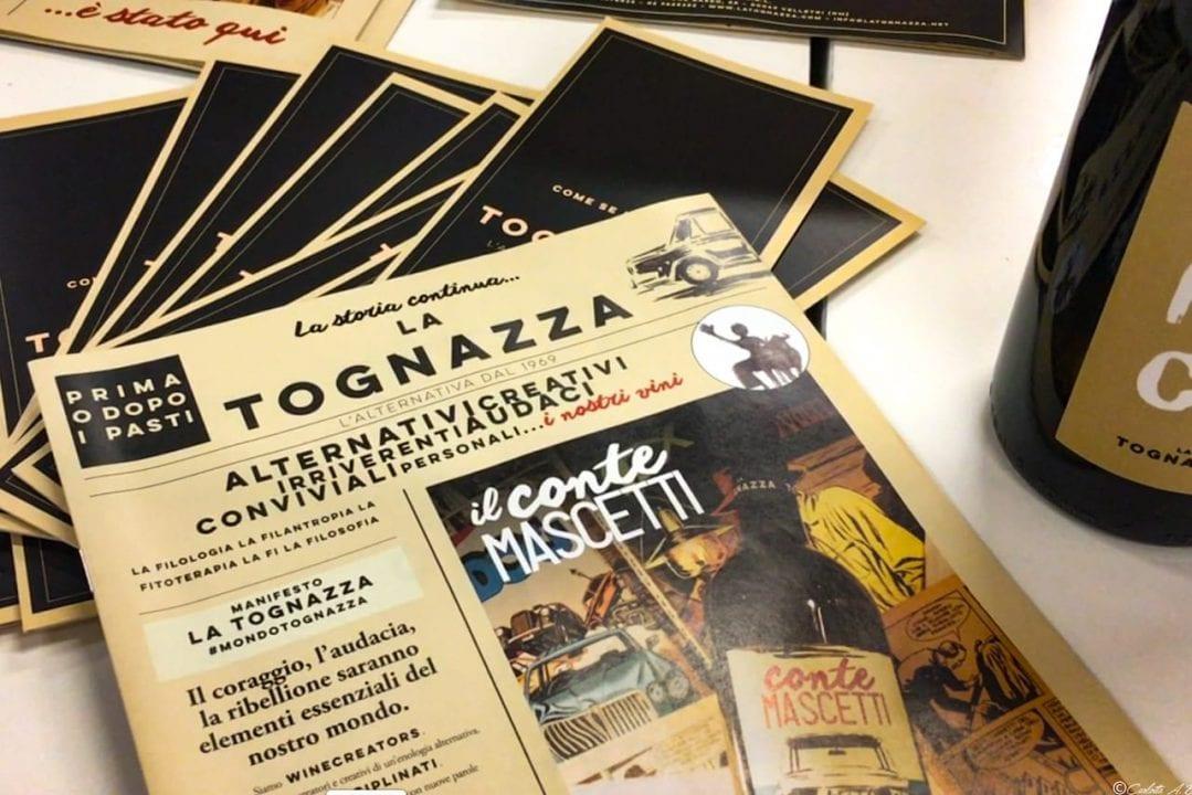 La Tognazza: una fanzine è il catalogo/giornale aziendale.