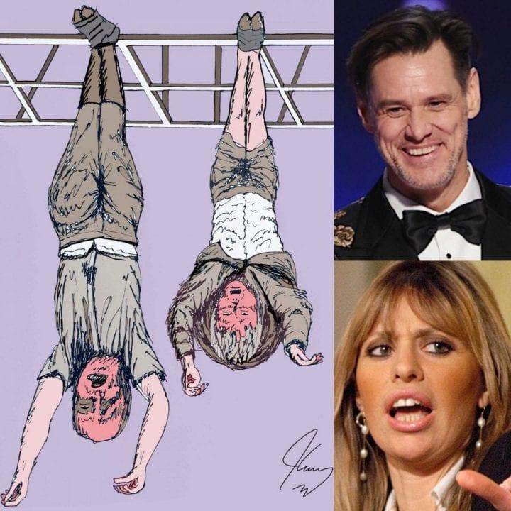 Jim Carrey risponde ad Alessandra Mussolini in modo perfido ma geniale