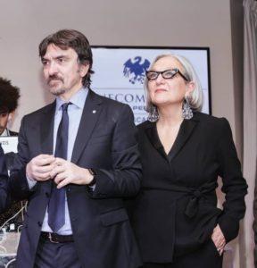 Franco Marinoni, direttore di Confcommercio Toscana ed Anna Lapini, presidente regionale Confcommercio