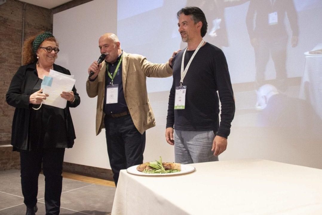 Il Consorzio Tutela Cinta Senese DOPed il testimonial Niccolò Savini della macelleria agricola