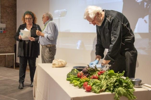 Il Consorzio del Pane Toscano DOP, accompagnato dallo Chef Paolo Ciolli ha portato il Pancotto all'Occhio, piatto povero della cucina fiorentina