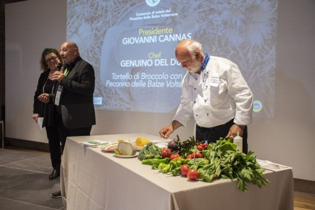 Il Consorzio del Pecorino delle BalzeVolterrane DOP con lo Chef Genuino Del Duca