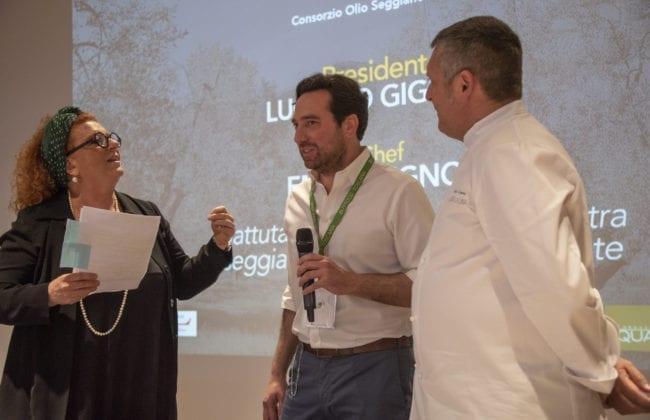 IlConsorzio del'Olio Seggiano, affiancato dallo chef Emilio Signori (Locanda La Luna, di Tirli)