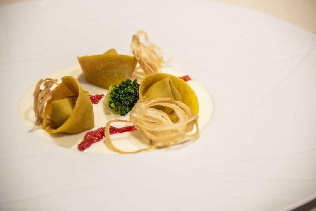 Tortello di broccolo con crema di Pecorino delle Balze Volterrane, Consorzio del Pecorino delle BalzeVolterrane DOP