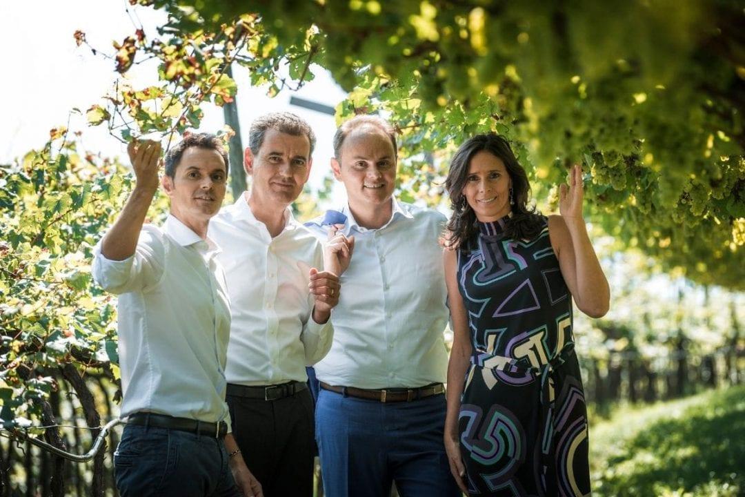 Alessandro, Marcello, Matteo, Camilla Lunelli - Photo: Ronny Kiaulehn