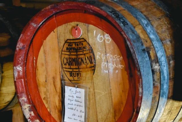 Un caratello per il Vin Santo di Rocca di Montegrossi