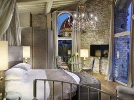 Hotel Brunelleschi Firenze, la prestigiosa Pagliazza Tower Suite