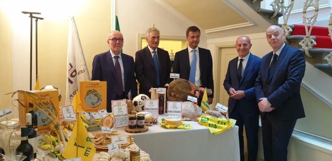 Accordo Coldiretti-LegaPro: il cibo italiano a km0 entra negli stadi.