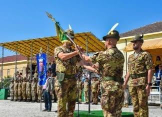 """Battaglione """"Vicenza"""": il Tenente Colonnello Lorenzo Rivi ha ceduto il comando al Tenente Colonnello Francesco Sabatini"""