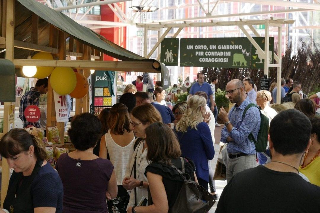 La grande affluenza di pubblico all'edizione 2018 di SANA a Bologna