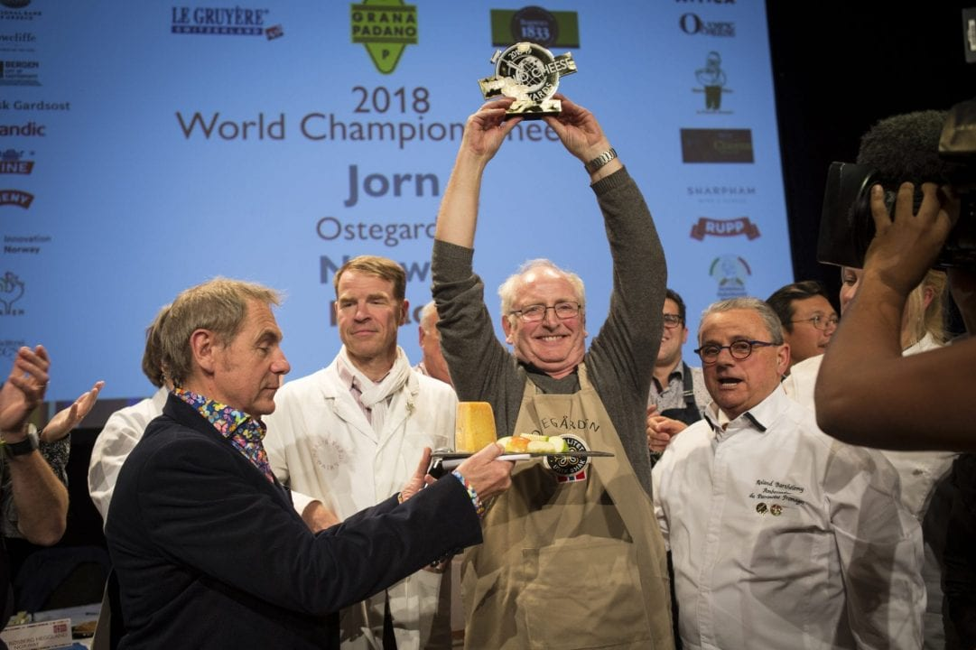 World Cheese Awards 2018, la cerimonia di premiazione