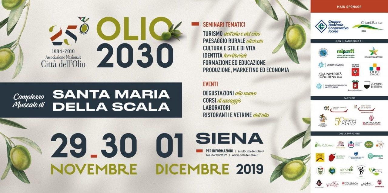 Stati Generali dell'Olio, Siena 2019
