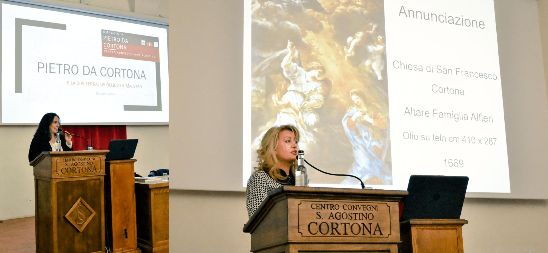 Pietro da Cortona: gli interventi della Dott.ssa Sandrelli e della Dott.ssa Bruni all'incontro di sabato 23 novembre presso il locali dell'ex convento di Sant'Agostino a Cortona