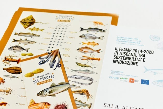 Food&Wine in Progress 2019, il Calendario del pescato presentato al Convegno FEAMP Toscana