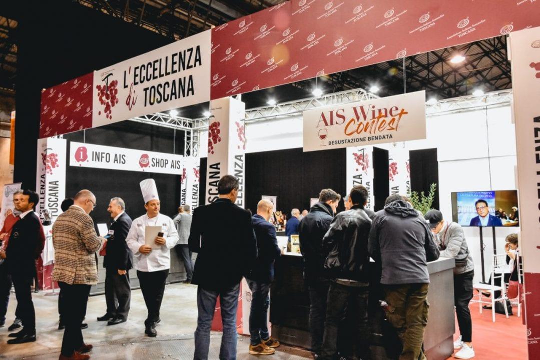 Food&Wine in Progress 2019, l'ingresso all'Area AIS - Eccellenze di Toscana