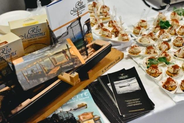 Food&Wine in Progress 2019, Cooperativa Pescatori di Orbetello al Cooking Show URCT durante il convegno FEAMP Toscana