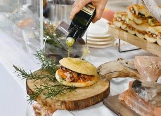 Food & Wine in Progress 2019, il panino al Lampredotto di polpo del Ristorante Borgo Allegro di Vinci
