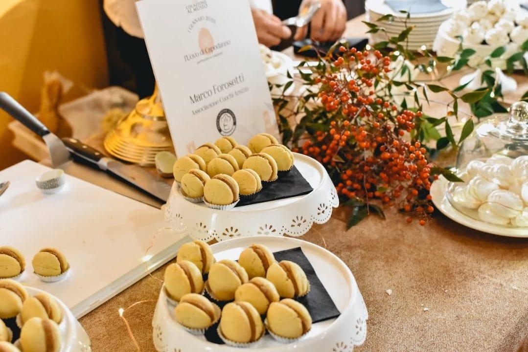 Colazione al Museo 2020, il Bacio di Dama dello chef Marco Forosetti dell'Associazione Cuochi Arezzo