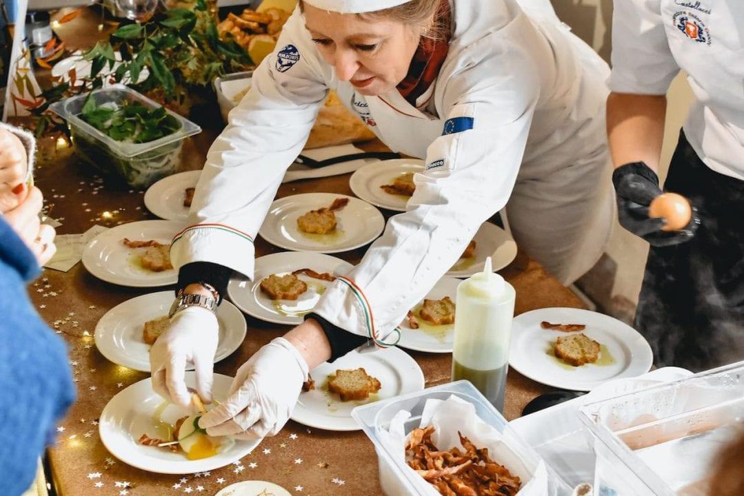 """Colazione al Museo 2020, gli chef dell'Associazione Cuochi alle prese col tema scelto per la 12esima edizione: """"L'Uovo di Capodanno"""""""