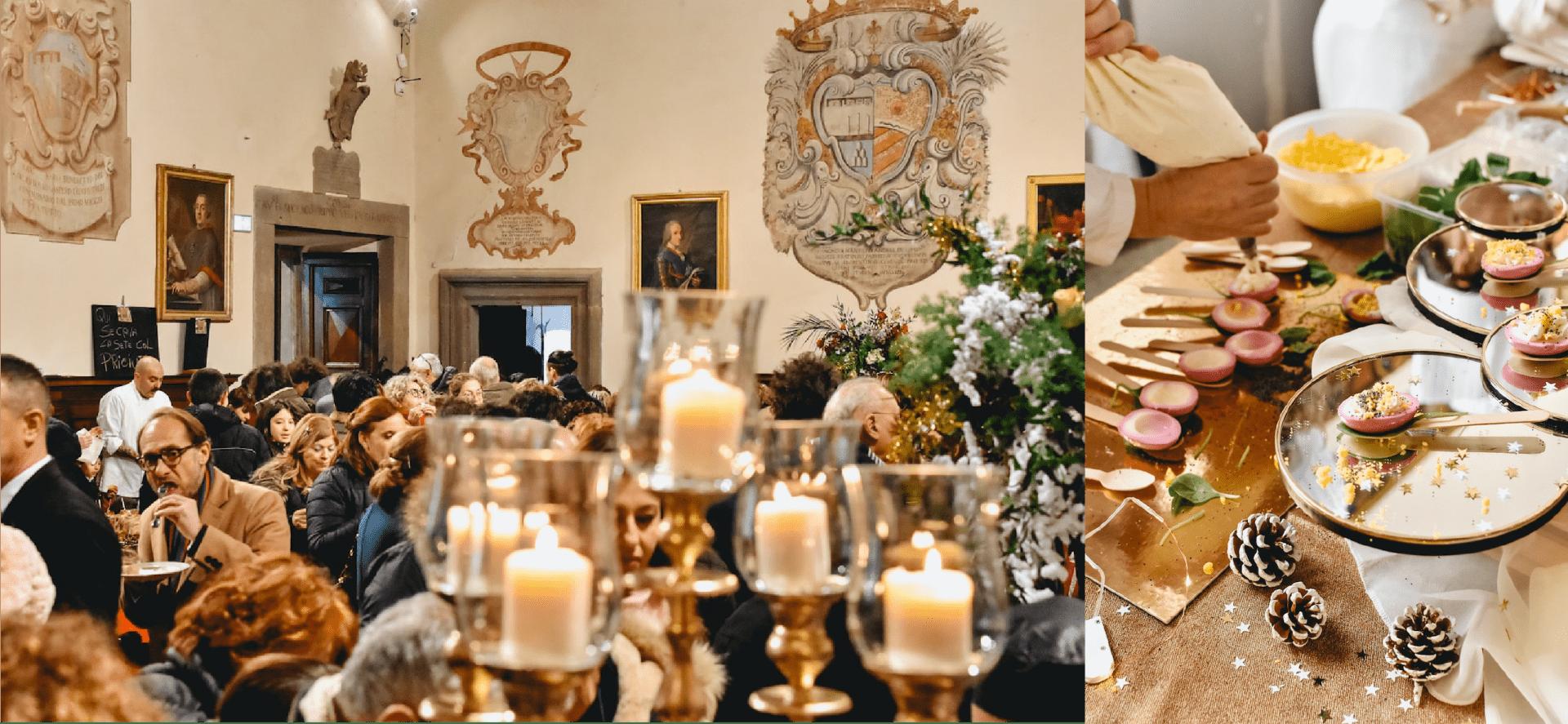 """Colazione al Museo 2020: un gran successo di pubblico per la 12esima edizione in cui gli chef dell'Associazione Cuochi Arezzo si sono cimentati con il tema """"L'Uovo di Capodanno"""""""