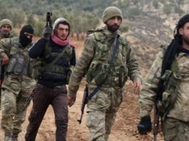 Miliziani siriani in Libia