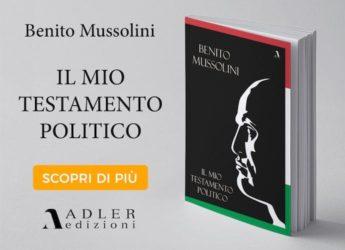 Il mio testamento politico, Adler Edizioni